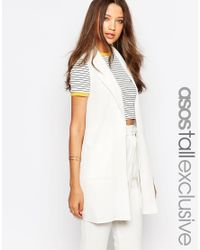 ASOS - Natural Co-ord Utility Jacket - Lyst
