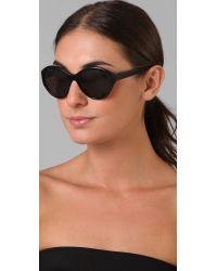 Elizabeth and James - Black Beverly Sunglasses - Lyst