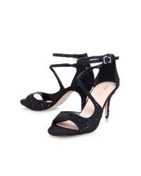 Carvela Kurt Geiger - Black Gamma High Heel Sandals - Lyst