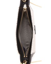 Pour La Victoire Black Elie Mini Cross Body Bag Pearl Multi