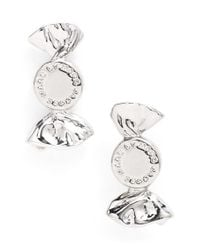 Marc By Marc Jacobs | Metallic 'lost & Found' Candy Stud Earrings - Argento | Lyst