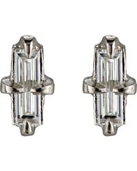 Cathy Waterman | Metallic Una De Gato Stud Earrings | Lyst
