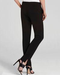 BCBGMAXAZRIA Black Tarik Straight Leg Pants