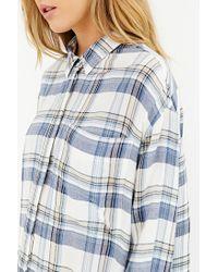 BDG Natural Logan Button-down Shirt