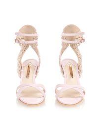 Sophia Webster - Pink Micah Angel-Wing Sandals - Lyst