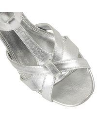 Lotus | Metallic Empress Court Shoes | Lyst
