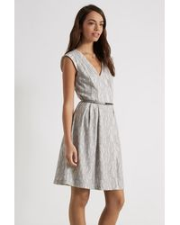 Oasis Multicolor Bonded Lace Dress
