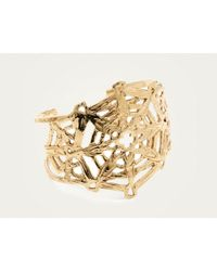 Odette New York | Metallic Mandala Cuff Brass | Lyst