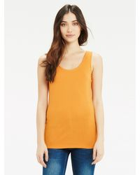 Oasis Multicolor Double Trim Vest Top