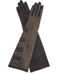 Rick Owens | Black Leather Sequin Gloves | Lyst