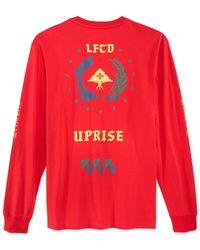 LRG | Red Uprisers Long-sleeve T-shirt for Men | Lyst