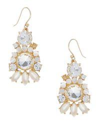 kate spade new york - White Grand Bouquet Drop Earrings - Lyst