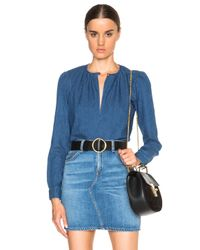 Rachel Comey | Blue Lira Top | Lyst