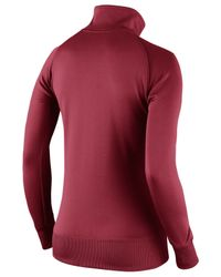Nike Red Women's Arizona Cardinals Stadium Track Jacket