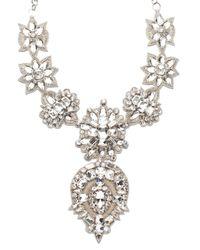 Deepa Gurnani | White Sloane Necklace | Lyst