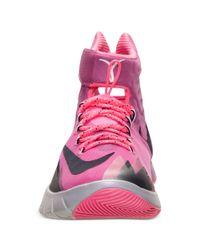 Nike Pink Mens Zoom Hyperrev Basketball Sneakers From Finish Line for men