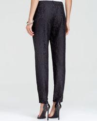Joie Black Pants - Lacinda Lace