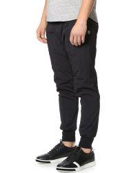 Steven Alan Black Alpha Insulated Pants for men