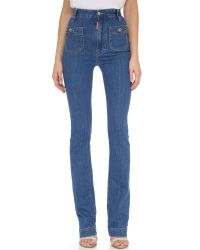 DSquared² | Blue High Waisted Jeans | Lyst