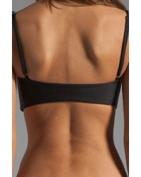 Mikoh Swimwear | Black Bordeaux Structured Bra Top | Lyst