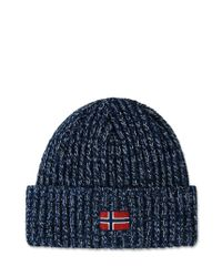 Napapijri | Blue Hat for Men | Lyst