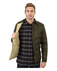 Penfield - Green Loring Down Filled Shirt Jacket for Men - Lyst