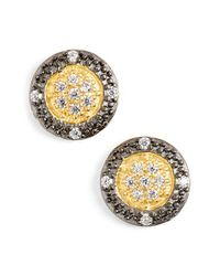 Freida Rothman | Metallic 'metropolitan' Stud Earrings | Lyst