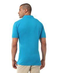U.S. POLO ASSN. Blue Big Logo Polo Shirt for men
