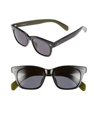 A.J. Morgan | Black 'milo' 50mm Sunglasses | Lyst