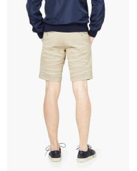 Mango | Natural Cotton Bermuda Shorts for Men | Lyst