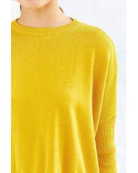 Silence + Noise Yellow Shiloh Sweater