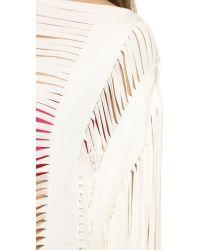 Hervé Léger Multicolor Bregi Cover Up - Alabaster