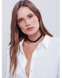 Free People | Black Child Of Wild Womens Electric Daze Choker | Lyst