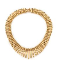 Giles & Brother - Metallic Apache Fringe Necklace - Lyst