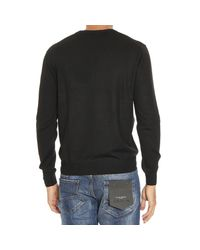 Cruciani - Black Sweater Man for Men - Lyst