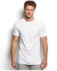 Tommy Hilfiger White Big & Tall Crewneck T-shirt 4-pack for men