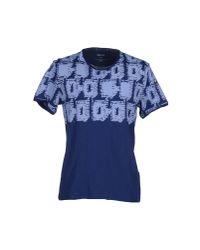 DKNY Blue T-shirt for men