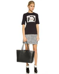 Tory Burch | Perry Tote - Black/beige | Lyst
