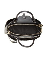 Burberry Prorsum - Black Milverton Shearling and Leather Tote - Lyst