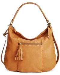 Lucky Brand | Natural Harper Crossbody Hobo | Lyst