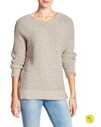 Banana Republic | Natural Factory Boat-neck Sweater | Lyst