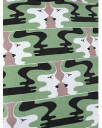 Holly Fulton - Green Face Print Longsleeved Top - Lyst