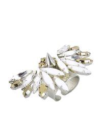 Crezus White Ring