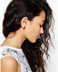 ASOS | Metallic Mismatch Cinema Earrings | Lyst