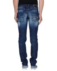 HTC | Blue Denim Trousers for Men | Lyst