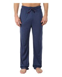 Tommy Bahama | Blue Heather Cotton Modal Jersey Knit Pants for Men | Lyst
