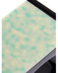 Stella McCartney - Green Plexiglas Stone Cuff - Lyst