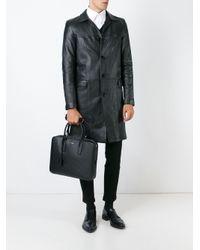 Saint Laurent - Black Museum Briefcase for Men - Lyst