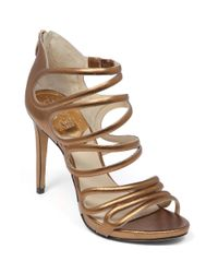 Vince Camuto | Brown Fortuner Evening Sandals | Lyst
