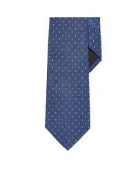Ralph Lauren Black Label - Blue Polka-dot Peau De Soie Tie for Men - Lyst